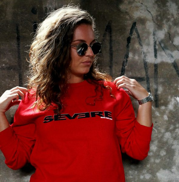 SEVERE-sweater-Red-Letterpack-2